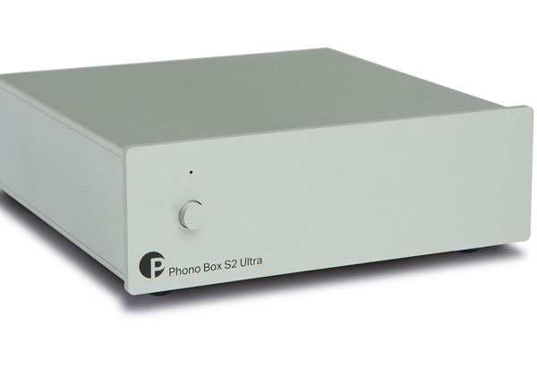 Pro-Ject Phono Box S2 Ultra Phono Preamplifier Silver