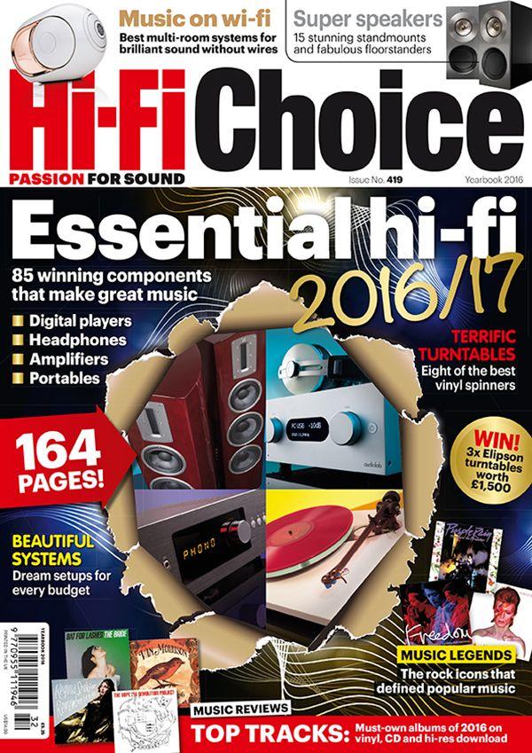 Yearbook 2016 on sale 29 December   Hi-Fi Choice