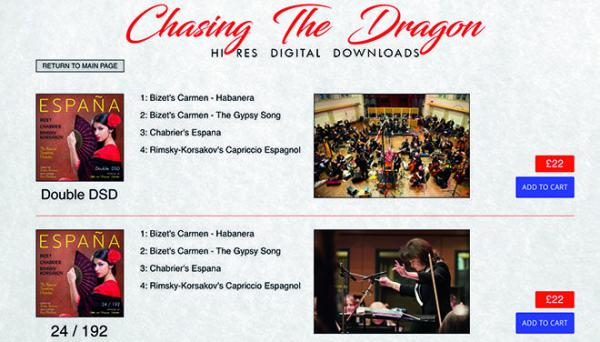 Chasing The Dragon website adds hi-res downloads | Hi-Fi Choice